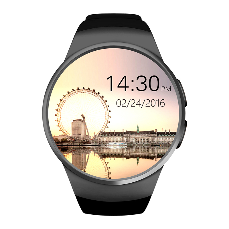 KW18 Bluetooth Smart Watch Phone Full Screen Support SIM TF Card Smartwatch Passometer Heart Rate for