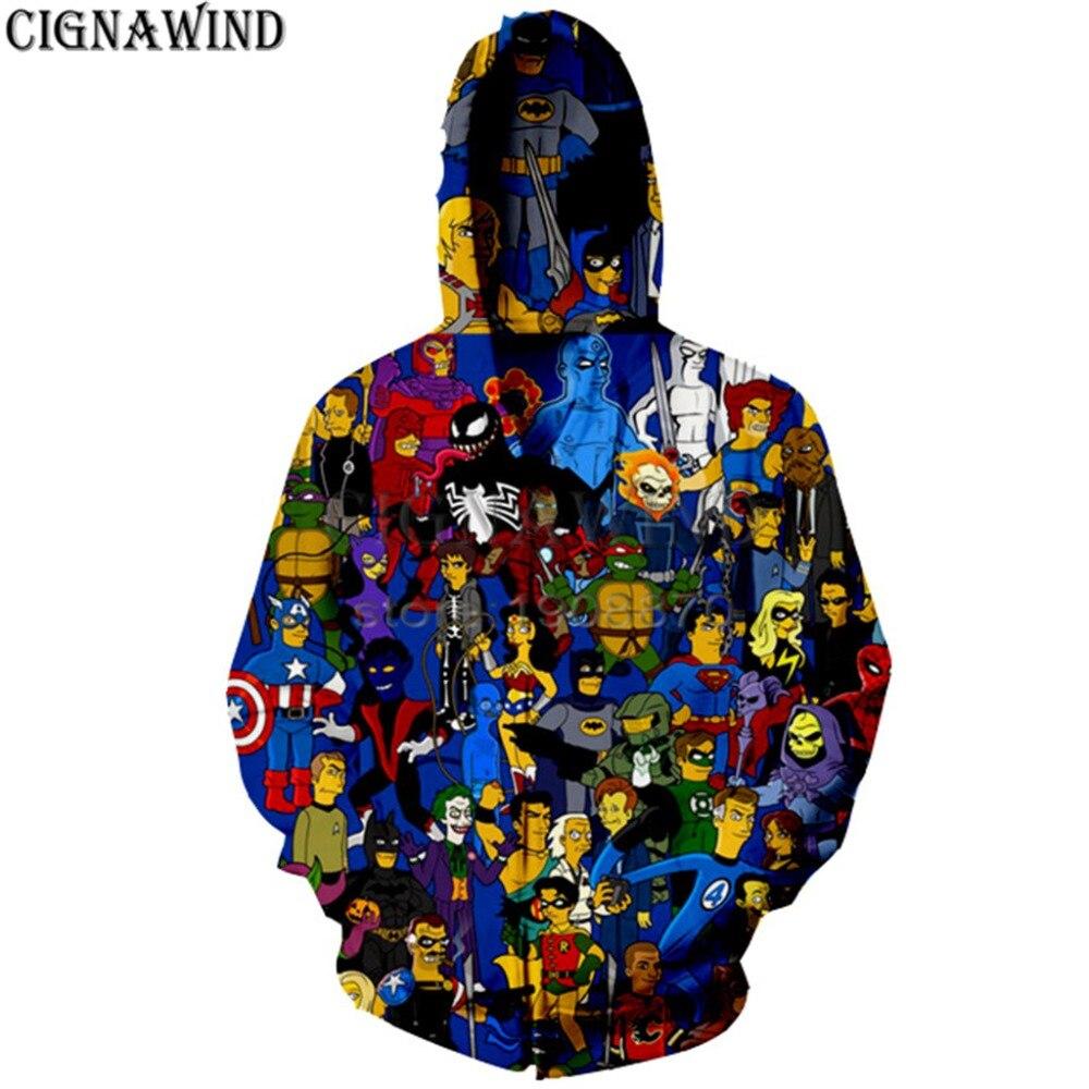 Streetwear Sweatshirts GOUDAN Herren Langarm Pullover 3D Druck Langarm Rundhals Sweatshirt Pullover Casuals,I,XXL