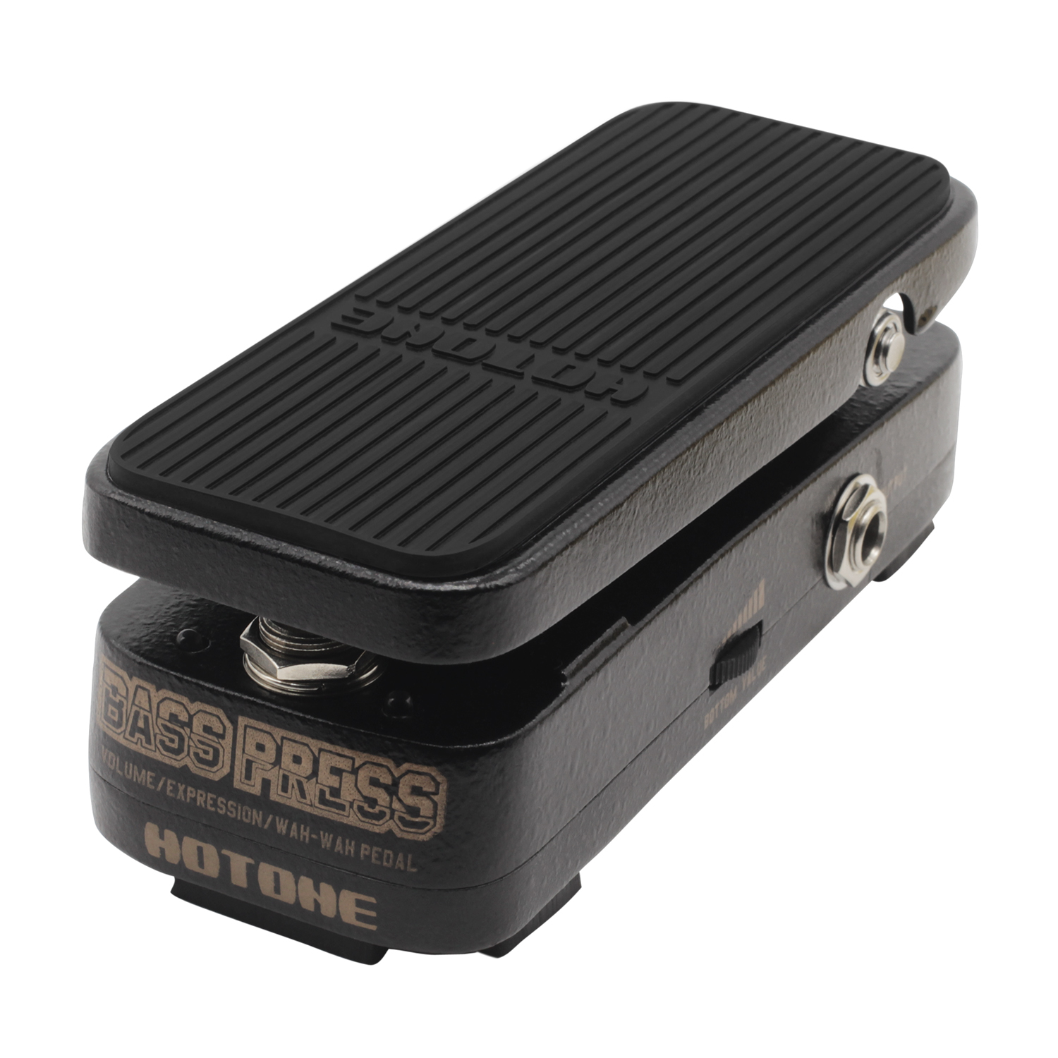 Hotone Bass Press Volume Expression Wah Effect Pedal 3-in-1 Pedal Electric Bass Effects Strong Clear Sound hotone soul press volume expression wah wah guitar pedal cry baby sound