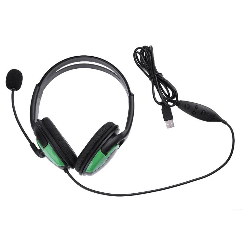 Gaming Headset Stereo Headphone USB Wired Stereo Over-ear Gaming Headphone Headset with Mic for PS3 PC Game Headphone Promotion