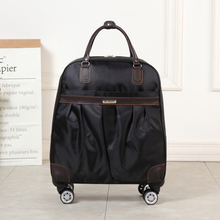 Fashion Women Trolley Luggage Rolling Suitcase Brand Casual Stripes Rolling Case Travel Bag on Wheels Luggage Suitcase