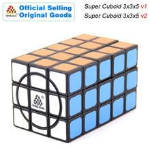 WitEden Super Cuboid 3x3x5 v1/v2 Magic Cube 335 Cubo Magico Professional Speed Puzzle Antistress Fidget Toys For Children