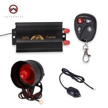 Coban TK103B Vehicle GPS Tracker GPS103B Car Tracking Motorcycle Alarm Cut Off Oil Power With Remote Control Shake Sensor Siren