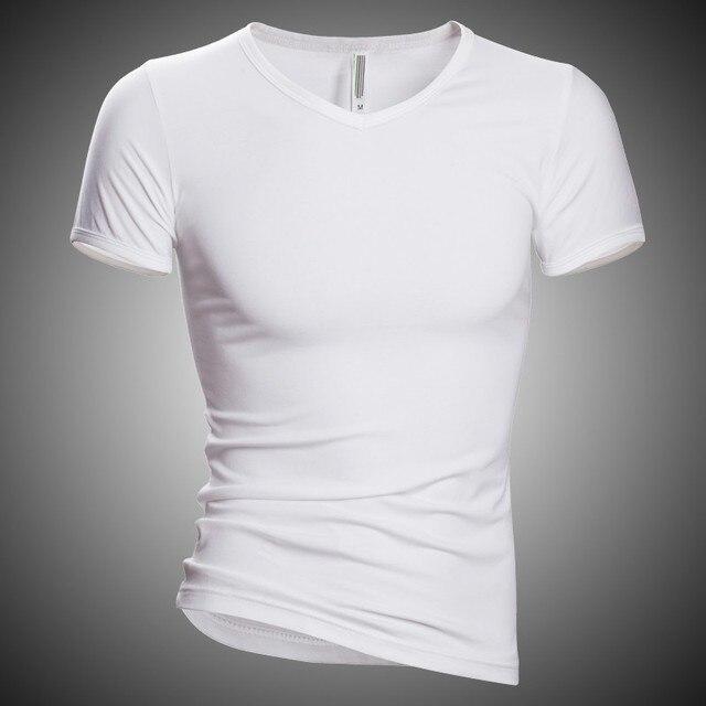 Для мужчин s футболка Чейз олень высокое качество 2018 повседневное Майка Твердые Хлопок Хип Хоп Футболка мужская футболка для фитнеса брендовая одежда