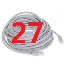 27 # laoke 2018 кабель высокого Скорость 1000 м RJ45 CAT6 сети Ethernet плоский кабель LAN UTP Патч-маршрутизатор Кабели