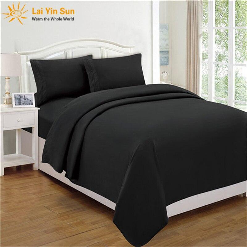 4/' bed Flat Sheet 68 Pick 50//50 polycotton