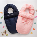 Baby sleeping Bag winter Envelope for newborns sleep thermal sack Cotton kids sleepsack in the carriage wheelchairs chlafsack