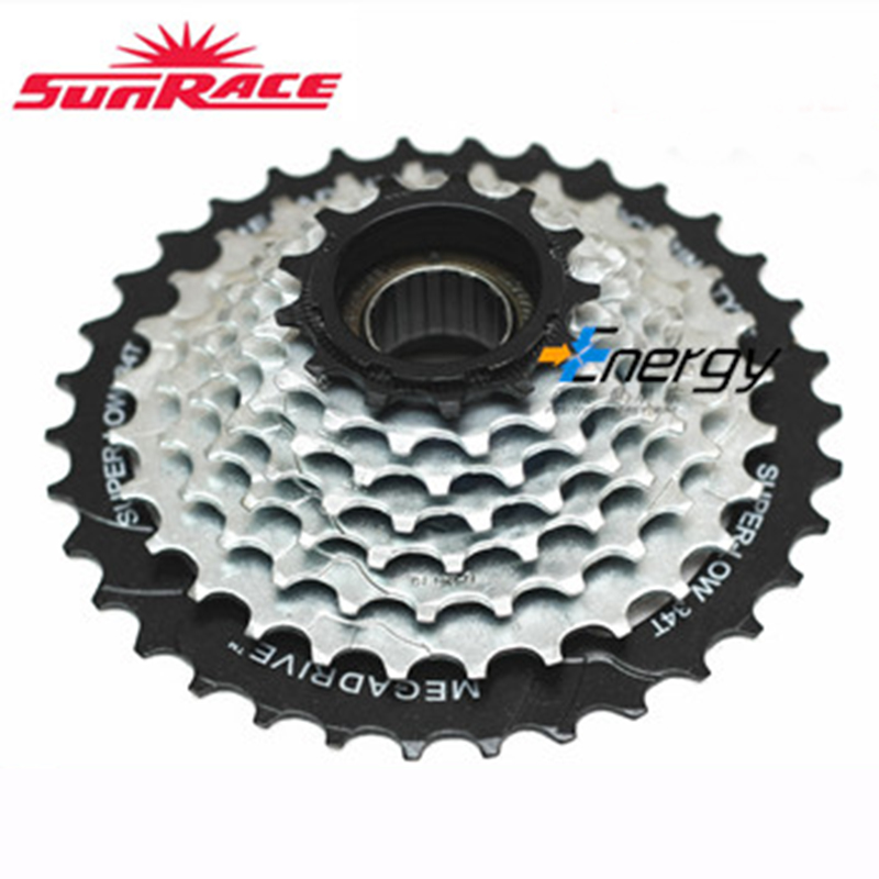 freeshipping SunRace 8 16 24Speed Rotary Flywheel Mountain Bike13-34t Free Shipping Cheap MTB Bicycle Freewheels Cassette MFM56 image