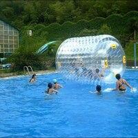 ПВХ воды надувной мяч прокатки воды Гуляя