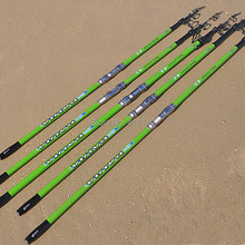 Daijia rover mar 12 13 15 18 metros cañas de pescar de carbono surfcasting tele