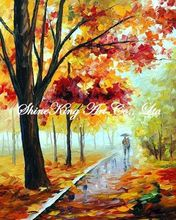 handmade modern oil painting knife oil painting  K104