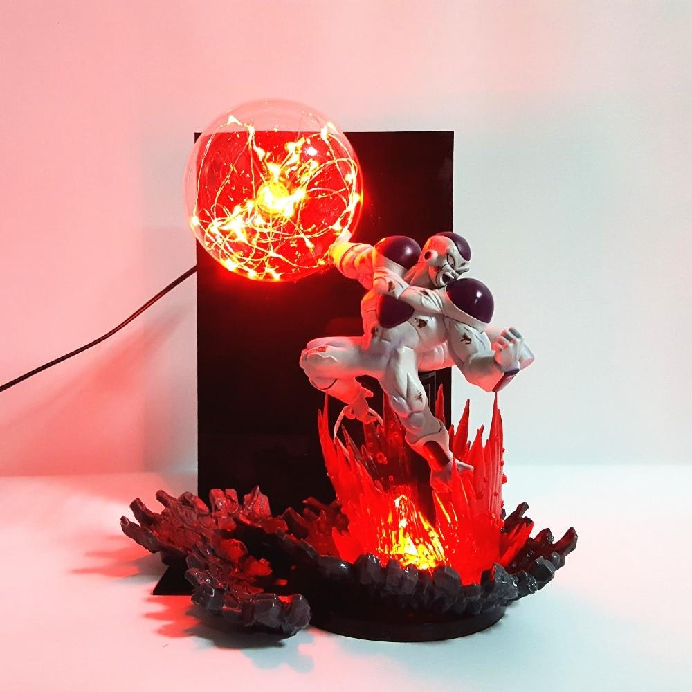 Dragon Ball Z Freeza Bulb Table Lamp Night Lights Dragon Ball Super Frieza Kamehameha Lamp For Christmas Decoration национальное танцевальное шоу гжель 2018 09 15t19 30