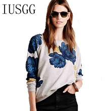 Winter Autumn Women Pullovers Sweatshirt Drop Shoulder Chinese Style Flower Print Casual Hoodies Casual Elegant Fleece Tops animal print drop shoulder sweatshirt