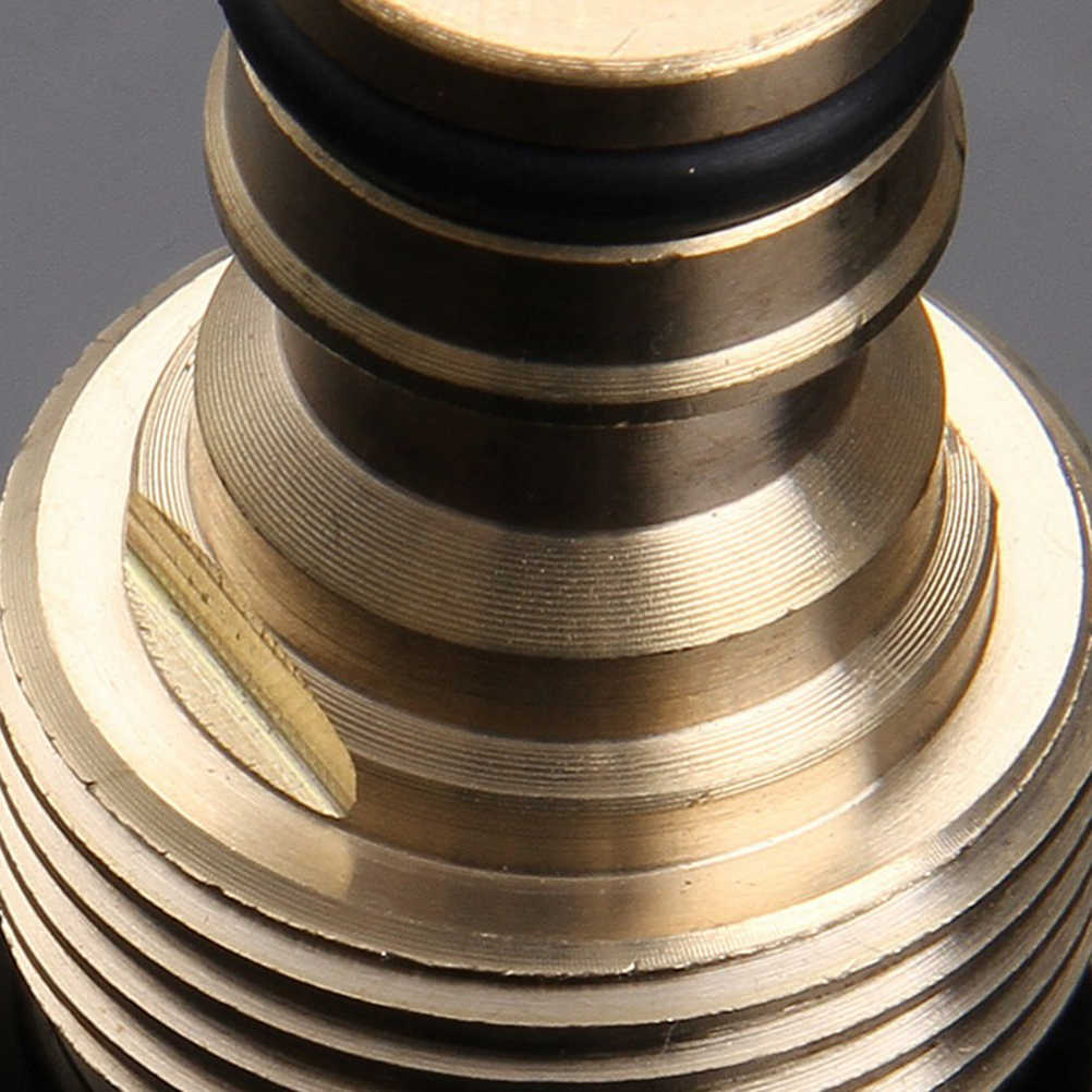 BESTOYARD 3/4 соединители водяного шланга латунный шланг садовый шланг кран соединитель кран шланг для воды подсоединительный фитинг адаптер крана