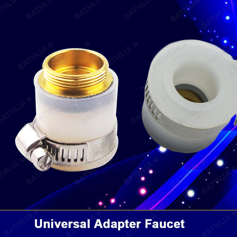 Kitchen Faucet Joint Water Pipe Adapter Garden Hose Connector Adaptor Universal Faucet Aerator Adapter Tap Adapter Adjustable