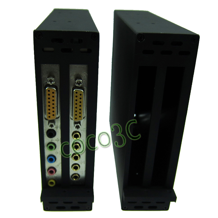 PCI-e To 2 PCI 32bit slots converter Riser Card support PCI express x1 x4 x8 x16 with enclosure dimension as CD-COM