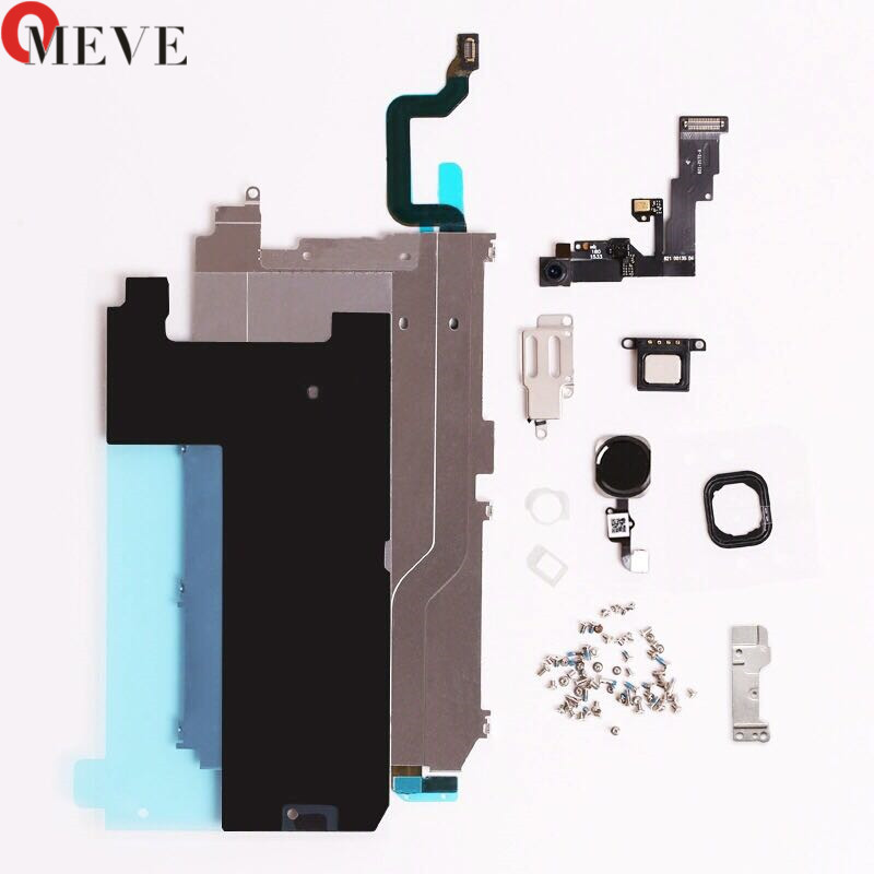 Original Screen LCD Metal Bracket Front Camera Flex Cable Small Parts Replacement for iPhone 5 5S 6 6S plus image