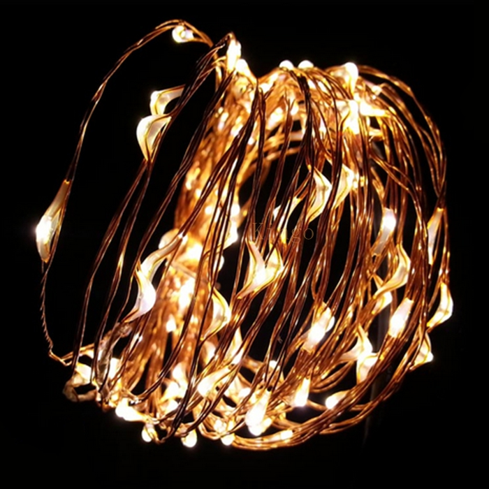 12 Volt Christmas Lights Outdoor Part - 17: Aliexpress.com : Buy 1pcs New 10M 100Led Multi Color 12V DC Copper Wire LED  String Light Decorate For Christmas Wedding Halloween Fast Shipping From ...