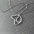 Английский спрингер-спаниель ожерелье, английский спрингер-спаниель кулон, животное ожерелье сплава ожерелье собаки, животное памятный подарок