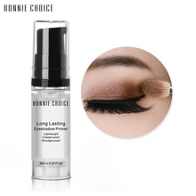 BONNIE CHOICE 6ml Eye Shadow Primer Make Up Base Natural Professional Cosmetic Cream Long-lasting
