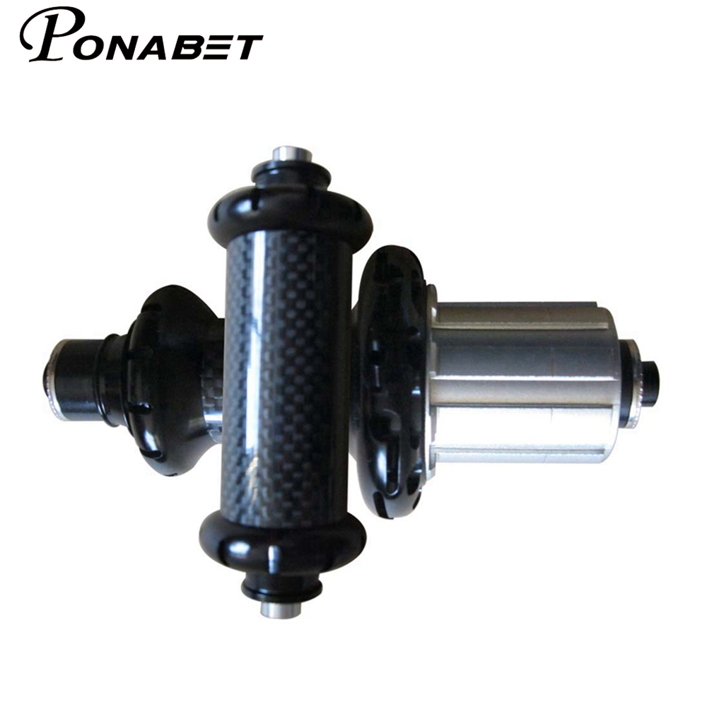PONABET Free shipping Powerway R36 carbon road hub black 20/24hole in stock, delivery soon free shipping 5pcs 232ge in stock