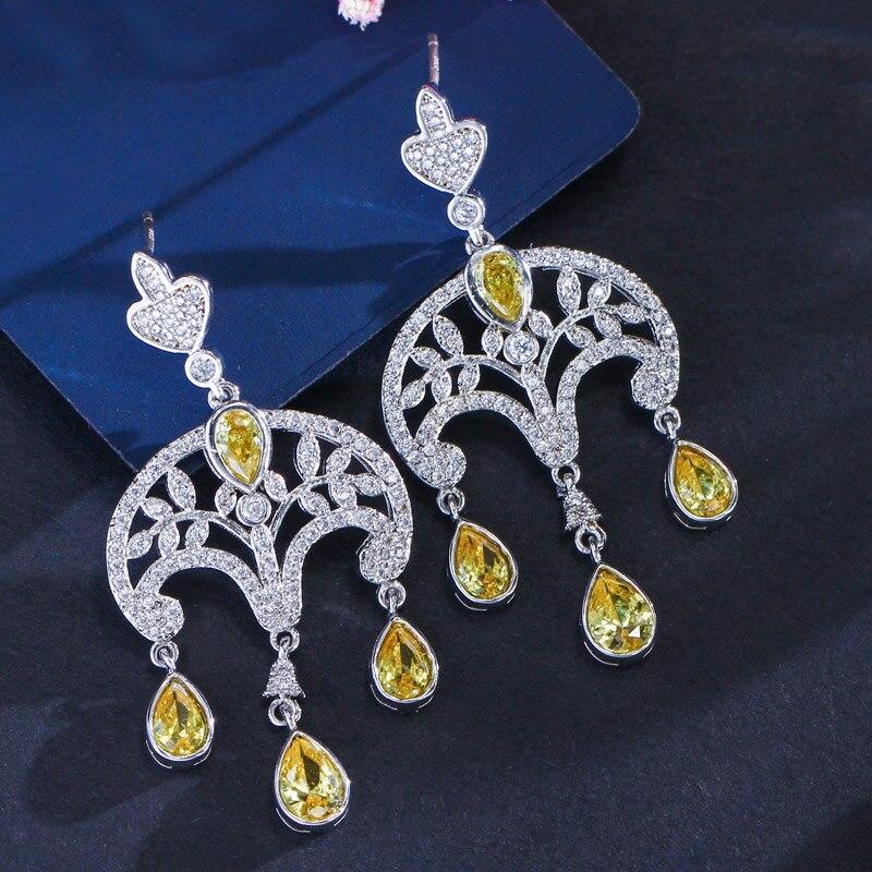 Vintage dangle earrings3