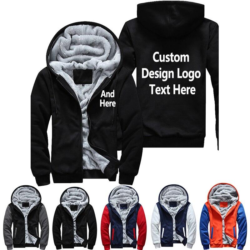 Dropshipping USA Plus EU Amerika Größe design männer Frauen Druck Muster Verdicken Fleece Zipper Hoodies Sweatshirt Mantel Jacke