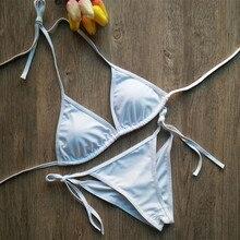 CV Swimsuit Summer new Hot sexy pure color women bikini