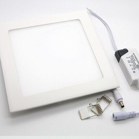 ניתן לעמעום LED תקרת לוח אור 4 W/6 W/9 W/12 W/15 W/18 W שקוע LED Downlight עם נהג תמיכת דימר החם/טבעי/קר לבן
