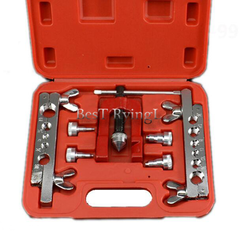 YG 7 pcs pièces de climatiseur outil spécial pour l'entretien Automobile climatiseur réfrigérateur Tube de cuivre outil