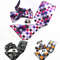 New Design Manta Paisley Conjunto Gravata 100% Jacquard de Seda Homens Conjunto Laço Dos Homens gravata Gravata Abotoaduras Lenço Gravata Borboleta para o Casamento partido