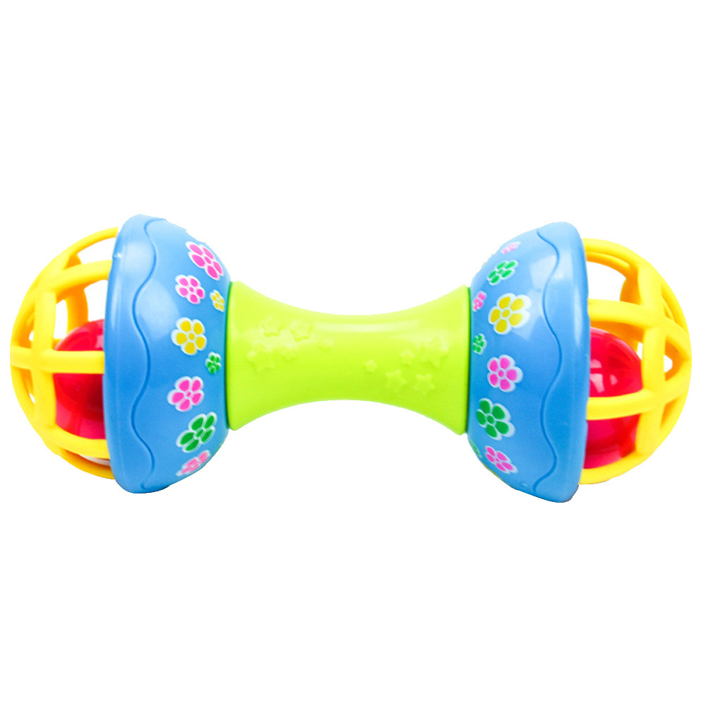 HIINST bathroom toy 2017 Children Pliable Bell Grasping Ball Exquisite Bell Educational Toys*R Drop