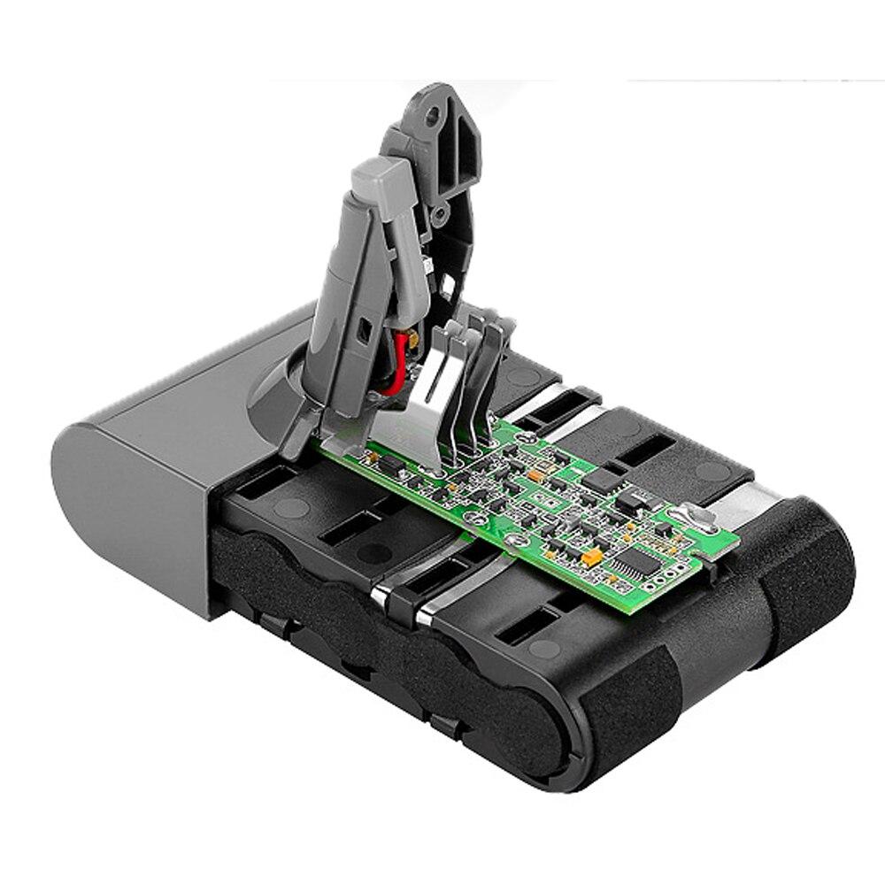 Haute Qualité 21.6 V 3000 mAh Li-ion Batterie pour Dyson V6 DC58 DC59 DC61 DC62 DC74 SV09 SV07 SV03 965874-02 Aspirateur Batterie - 2