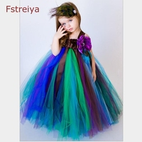 Fstreiay Baby Girls Dress Summer Sleeveless Girls Party Princess Dress Girl Rapunzel Clothes Bobo Choses 2018