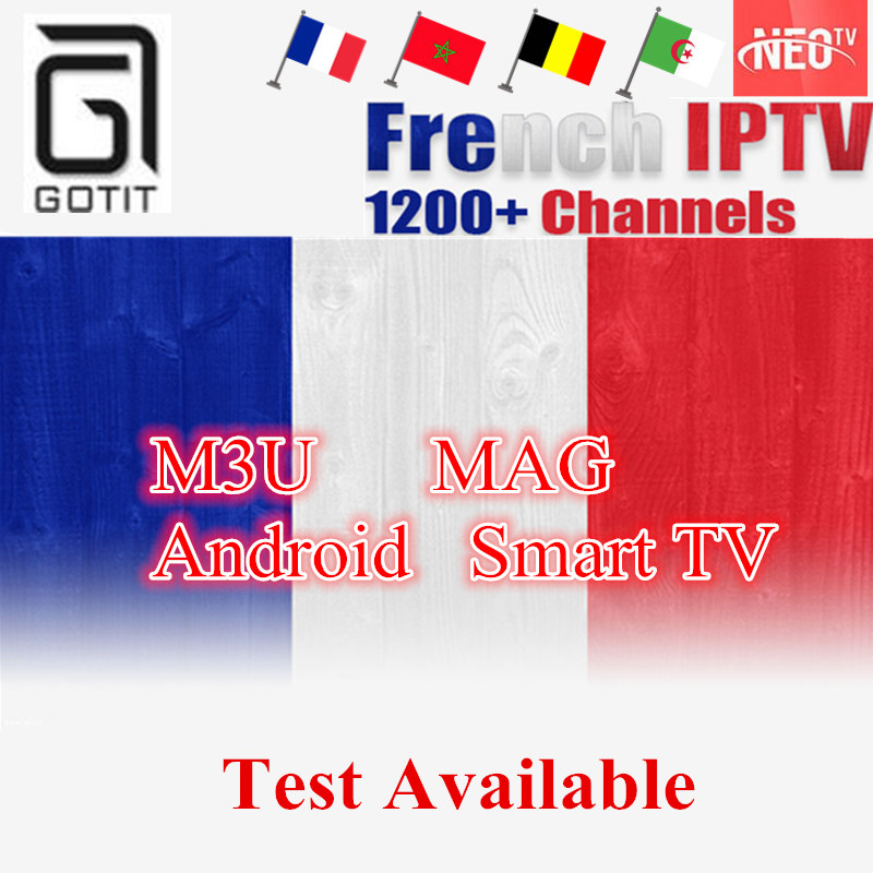 ipremium Best Arabic French NEO IPTV for 1 year with 1200+channel TV & VOD for Belgium Morocco Tunisia Algeria Set top Box
