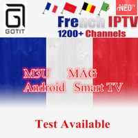 Ipremium Best Arabic French NEO IPTV For 1 Year With 1200 Channel TV VOD For Belgium