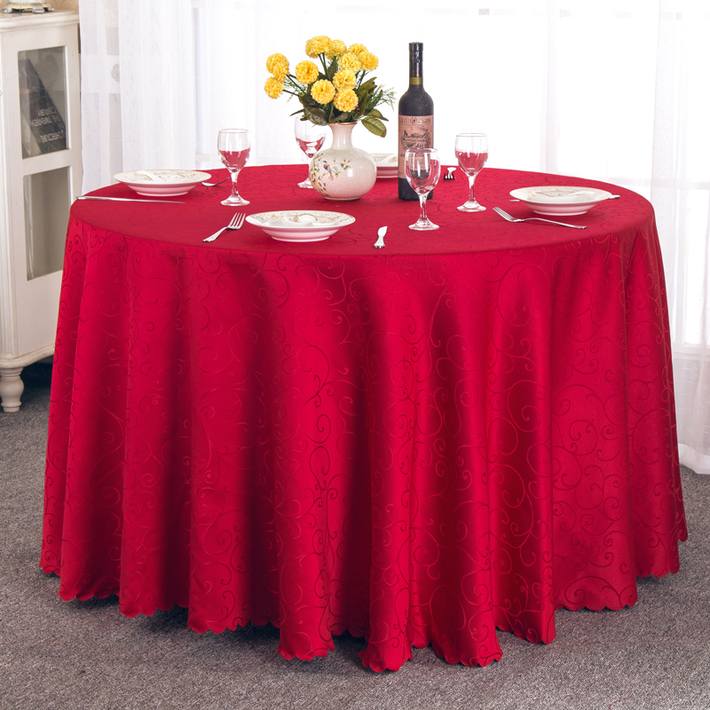 1PC Modern Round Table Cloth Fabric Home Hotel Party Wedding Tablecloth  Dinner Coffee Different Size Tablecloth Home Textile New In Tablecloths  From Home ...