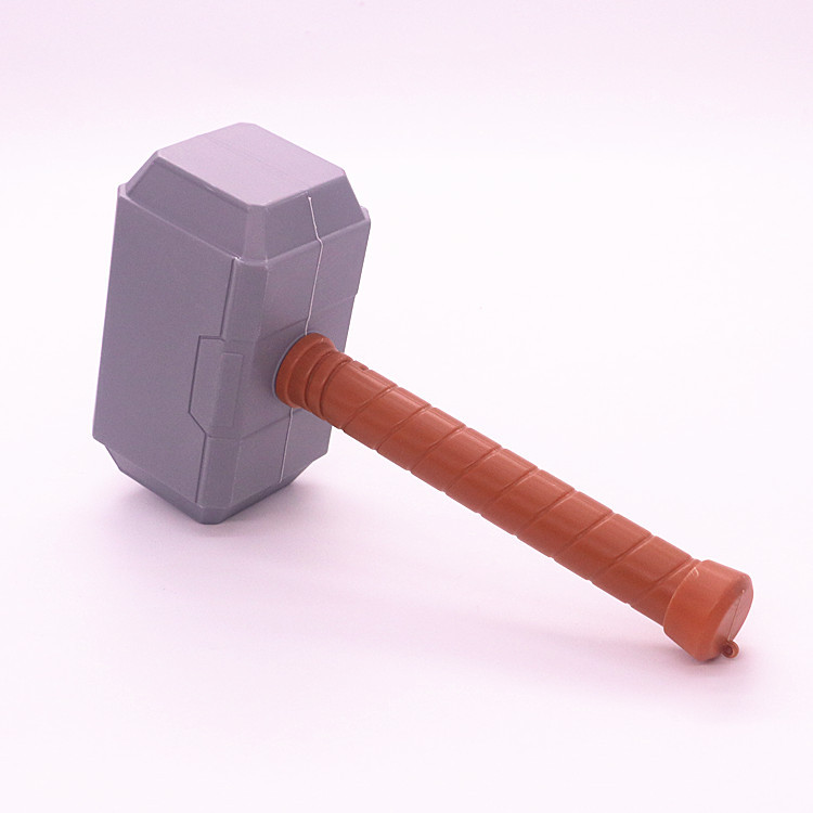 Obliging 29cm Thors Hammer Toys New Avengers Super Heroes Thor Hammer Cosplay Toy Plastic Hammer Action Figures For Kids Christmas Gifts Luxuriant In Design Toys & Hobbies
