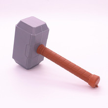 29cm Thor's Hammer Toys New Avengers Super Heroes Thor Hammer Cosplay Toy Plastic Hammer action figures for kids Christmas gifts