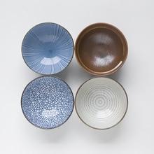 Japanese-style Ceramic Tableware Dinner Rice Bowl Instant Noodles Bowl Disposable Noodle Bowl salad bowl porcelain plate japanese style home decor tableware ceramic dinner bowls soup noodle rice bowl