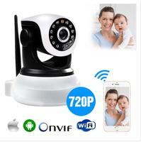 Comprar p2p pan tilt ip câmera de segurança sem fio hd 720 p onvif rede áudio infravermelho ip cam visão noturna wifi webcam suporte 64g|webcam wifi|webcam webcam|webcam ip wifi -