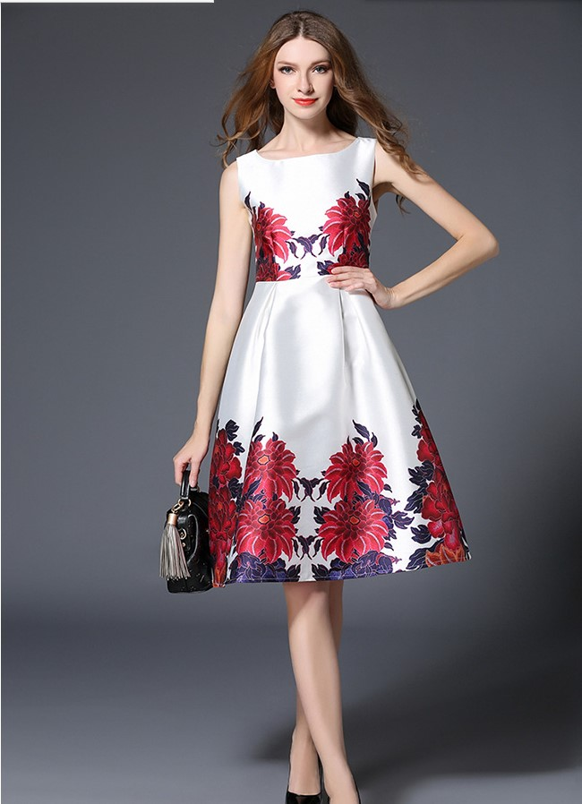 Latest Womens Fashion Clothing Dresses: 2017 New Arrival Women's Fashion Slim Ball Gowns Girls