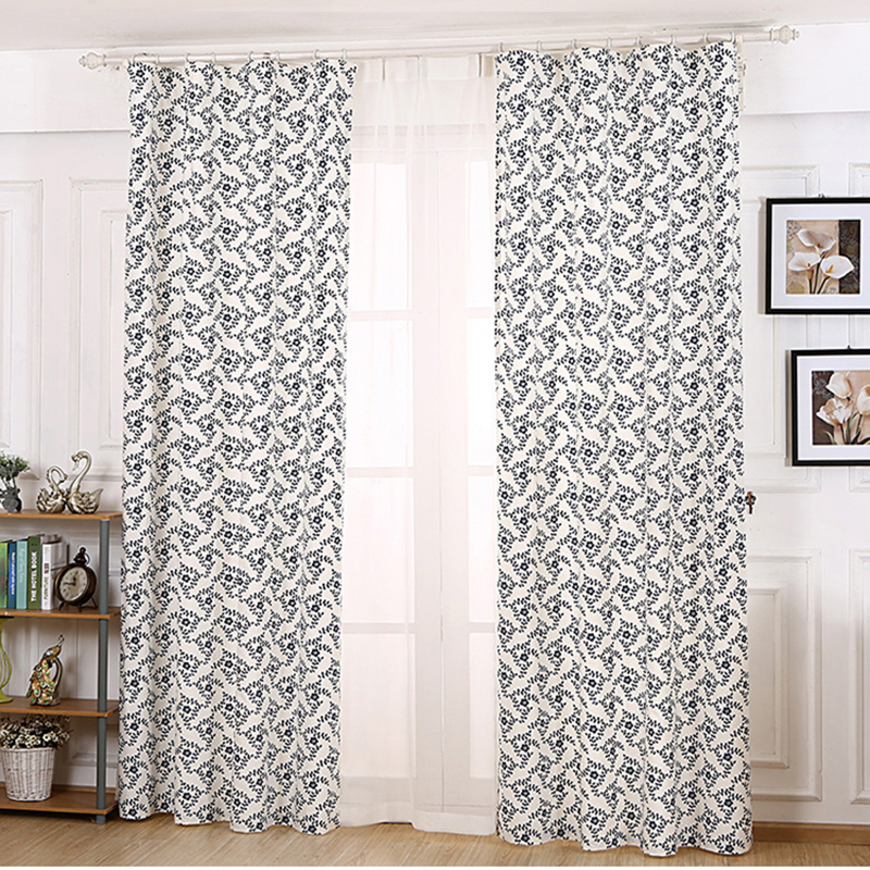 Free Shipping The New Chinese Style Fluid Systems Personality Curtain Custom Simple Farmhouse Style Blue And White Curtains White Curtains Curtain Free Shippingcurtain Styles Aliexpress