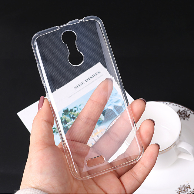 Translucent case For oukitel C8/K3/U7 MAX/U7 PLUS Ultra-thin TPU Skin Soft Protective Back Cover cellphone parts