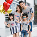 Casual Family Matching Outfits Family Clothing Mother and Daughter Dresses Mommy and Baby Clothes Father and Son T shirts, CP10