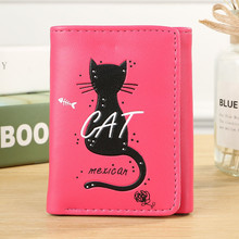 Wome Lovely wallet  unicorn travel abroad waterproof passport holder credit card Cat cover 711