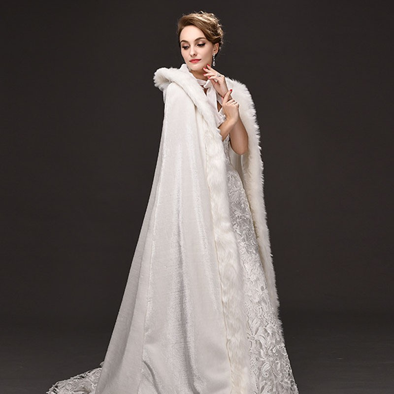 Wedding Dresses Bolero.Us 68 0 20 Off Long White Off White Wedding Jacket Bolero Wedding Dresses Out Wear Wraps Faux Fur Bridals Jacket In Wedding Jackets Wrap From