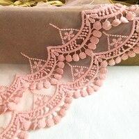 A2 en gros dentelle 1 Cour/lot BRICOLAGE craft vêtements accessoires/dentelle gaze floral broderie lacets tissu diy matériel