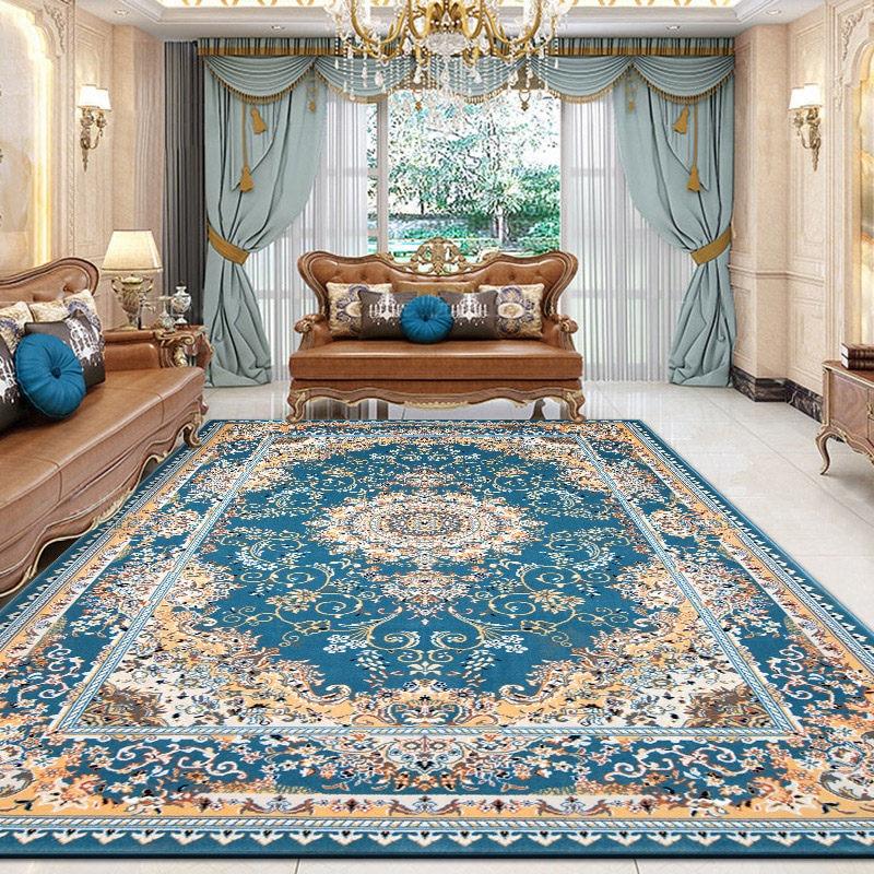 Iranian Persian Carpet Living Room Retro Carpet Bedroom Thick Polypropylene Rug Home Sofa Coffee Table Floor Mat Rugs