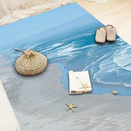 Nordique 3d abstrait minimaliste moderne salon table basse chambre tapis chambre complet chevet couverture rectangle